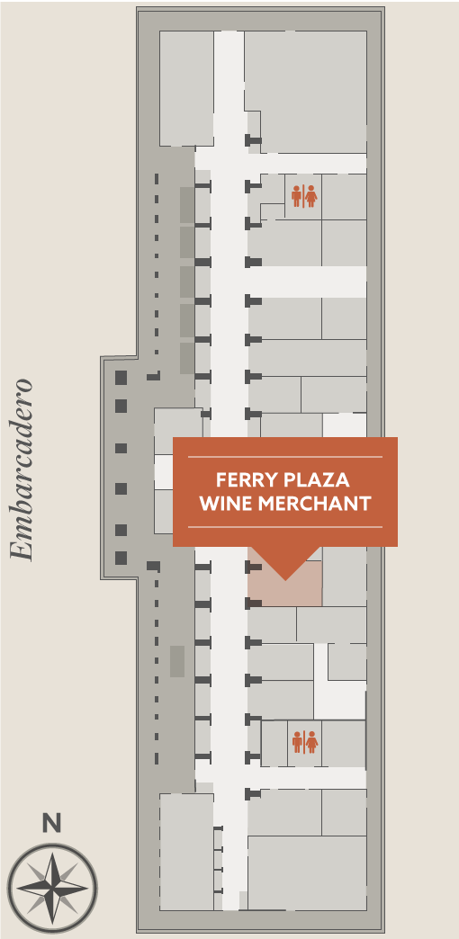 Ferry Building Map
